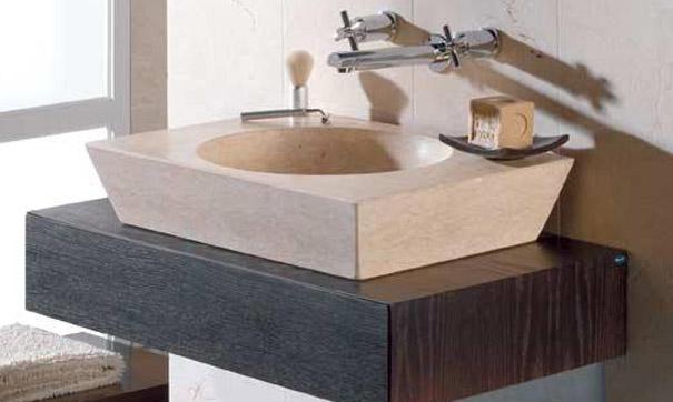 Lavabos de m rmol encimeras madrid for Lavabos de marmol y granito
